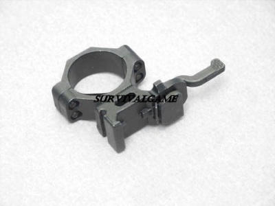 A.C.M. 30mm QD scope mount ring