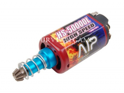 AIP High Speed Motor HS-50000 (Long Type & Force-magnetism)