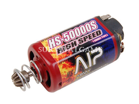 AIP High Speed Motor HS-50000 (Short Type & Force-magnetism)