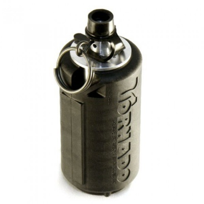 AIRSOFT INNOVATIONS IMPACT TORNADO AIRSOFT GAS BB BLACK GRENADE