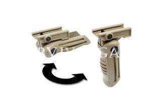 AK47 foldable foregrip (Tan)