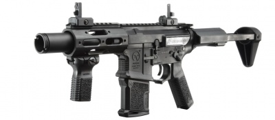 AMOEBA M4 Airsoft CQB Rifle Black (AM-015)