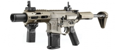 AMOEBA M4 Airsoft CQB Rifle Tan (AM-015T)