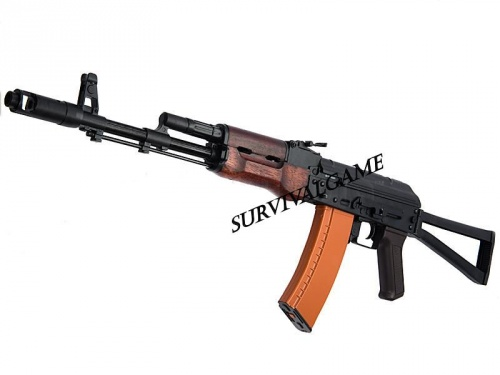 APS Full Metal AK74 Real Wood Version