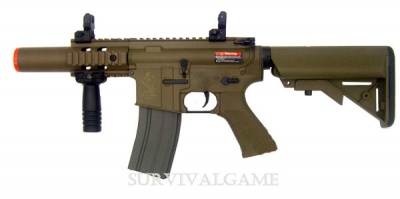 ARES M4 STUBBY KILLER TACTICAL CQC TAN