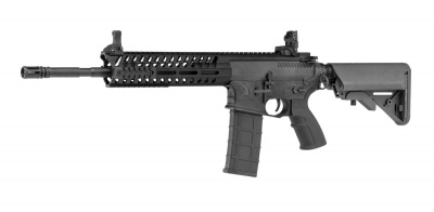 Airsoft Rifle AEG BO DYNAMICS COMBAT LT595 CARBINE - Black Polymer