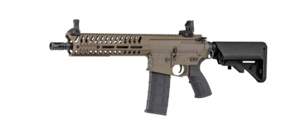 Airsoft Rifle AEG BO DYNAMICS COMBAT LT595 CQB - Dark Earth Polymer