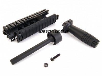 CYMA CNC Machined Aluminum MP5 RAS Set