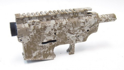 'DYTAC' Water Transfer Gusci in metallo M4/M16  Colorazione Digital Desert
