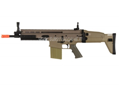 D Boy Full Metal MK17H Airsoft Gun (Tan)