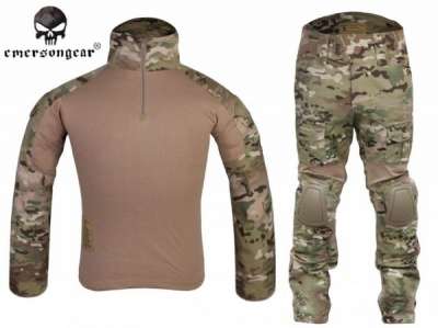 EMERSON GEN2 COMBAT SUIT+PANTS MULTICAM