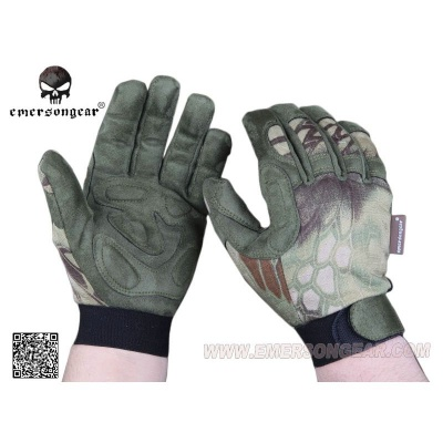 EMERSON Guanti Tactical Lightweight Camouflage Gloves Mandrake