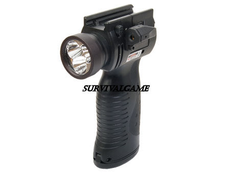 Element 300 Lumen LED Light Source With Red Laser