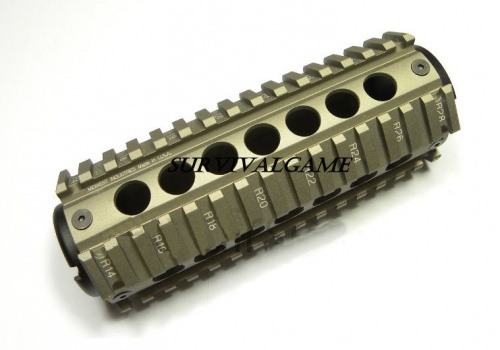 Element MCTAR-17 Forend for AR15 carbine  TAN