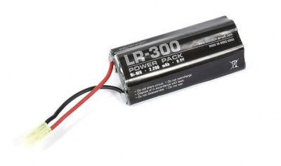 Evolution Airsoft LR-300 Battery 2200mAh 9,6V Ni-MH