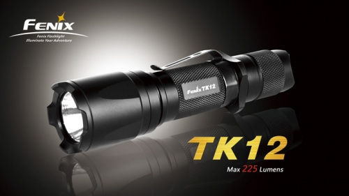 'Fenix' multi-mode intelligent LED flashlight (TK12)