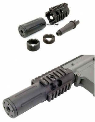 Front Set For M4 / M16 fighting cat forend