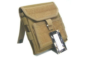G1 ADMIN POUCH OLIVE/TAN