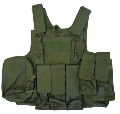 GILET TATTICO SOFTAIR BODY ARMOR OD