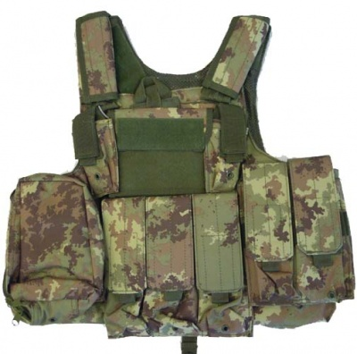 GILET TATTICO SOFTAIR BODY ARMOR VEGETATO