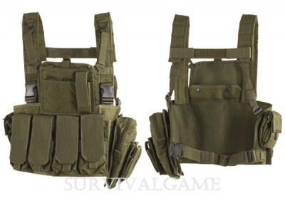 Gilet Tattico MOLLE Chest Rig Vest