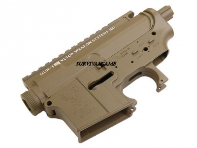 Gusci in Metallo M4/M16  Big Dragon New M4 TAN