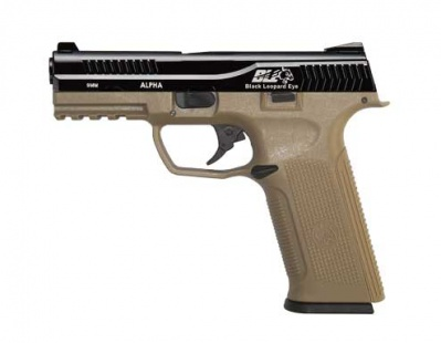 ICS BLE-001-SD3 Alpha Gas Blowback Pistol Two-Tone BKTN