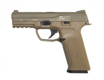 ICS BLE-001-ST Alpha Gas Blowback Pistol Tan