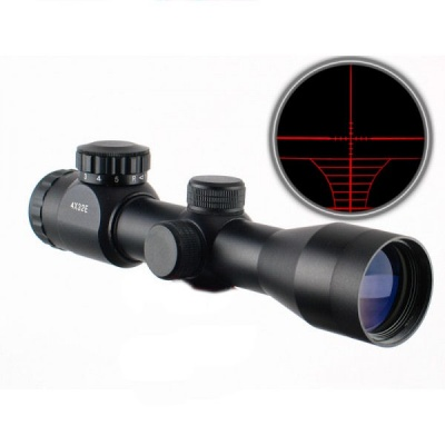 JS TACTICAL 4X32 Illuminato