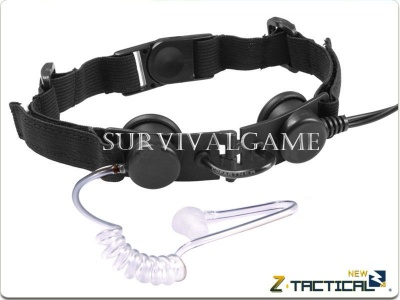 Laringofono Tactical Throat Mic - Z-Tactical (Black)