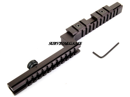 M16A2 Goose Neck Rail Mount