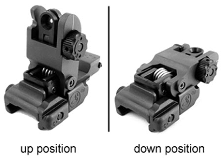 M4 Foldable Rear Sight