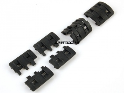 Magpul XTM Rail Panels - Black Colore: BLACK