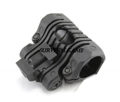 Plastic Multi-Angle Offset Flashlight Mount