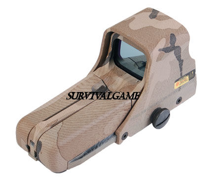 552 Red / Green Dot Sight Scope  - Tan