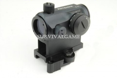 'AABB' Aimpoint T1 R/G dot with quick detached mount (Black)