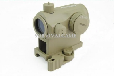 'AABB' Aimpoint T1 R/G dot with quick detached mount (Sand)