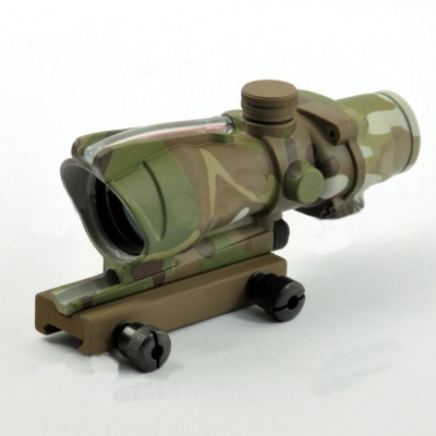 Red Dot Style ACOG TA31 Multicam