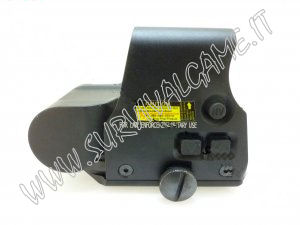 'Optics Depot' transverse XPS side panel R/G holosight with QD mount base (Black)