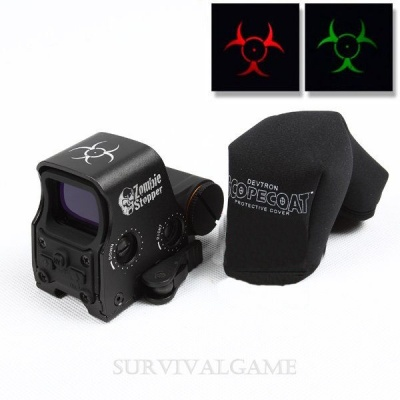 Red Dot Xps2-Z  Zombie Stopper Red & Green Dot Black