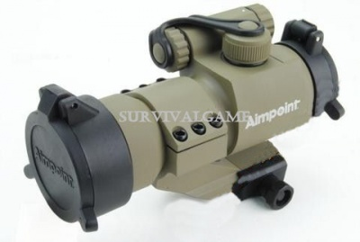 Red dot Aimpoint M2 1X32 Con Loghi (Tan)