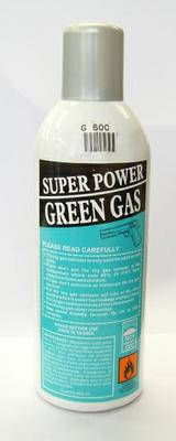 SUPER GREEN GAS 600ML UGELLO IN METALLO