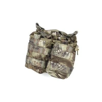 TMC Double Open Top Mag Pouch Mandrake