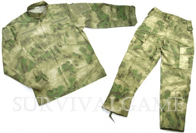 Tactical BDU set in A-Tacs FG