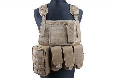 Tattico MBSS Plate Carrier type Tactical Vest – Coyote