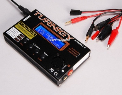 Turnigy Accucel-6 50W 5A BalancerCharger w accessories