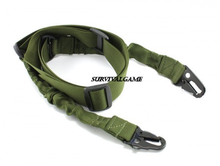 Two-point Rifle Sling - Green