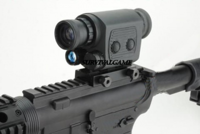 'VisionKing' 1 x 20 Night Vision Scope with mount adapter